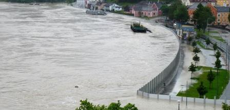 GREIN (AUSTRIA) - Flooding of the Danube in 2013